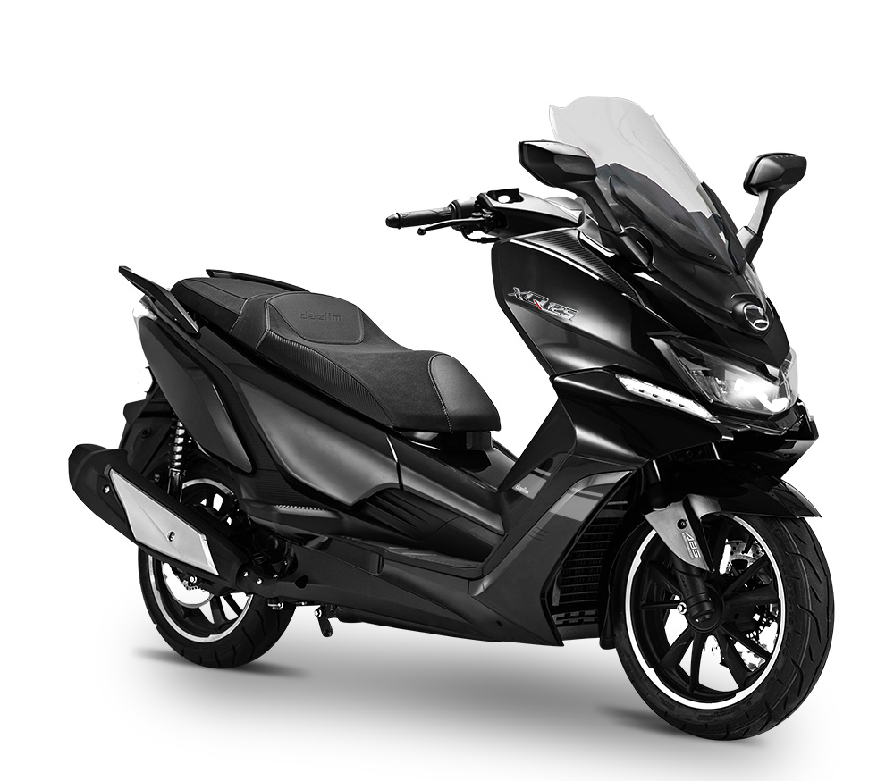 Daelim-XQD-125-Noir